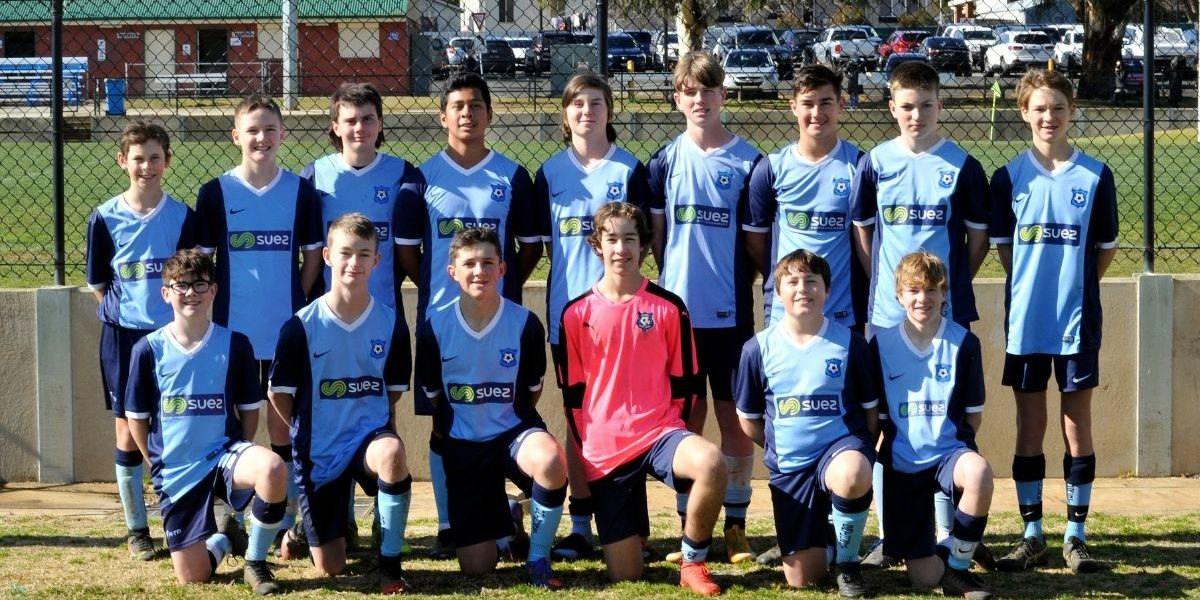 Bathurst FA crowned Under 14 Boys Country Cup Champions